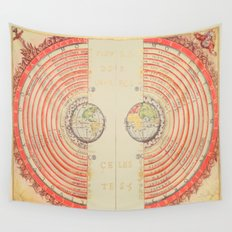 A Geocentric Universe Wall Tapestry