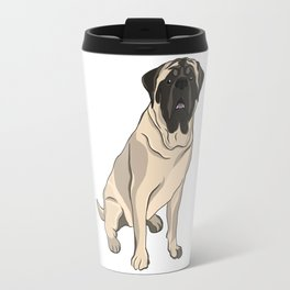 Mastiff the French Bulldog Travel Mug