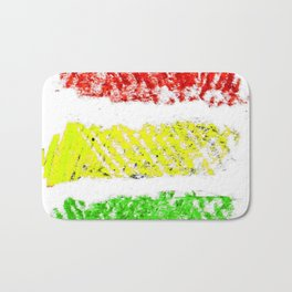 flag of bolivia 5 – Chalk version bolivian,boliviano,bolivian,Sucre, La Paz. Bath Mat