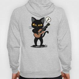 Cat guitar Hoody