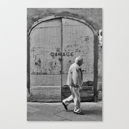 Garage Canvas Print