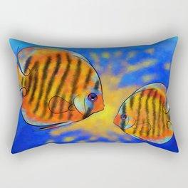 Discussios V1 - amazing discus Rectangular Pillow