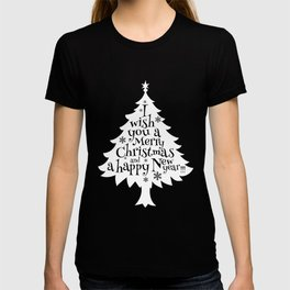 Christmas T-Shirt Funny Xmas And Happy New Year Gift Apparel T-shirt