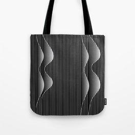 night waves Tote Bag