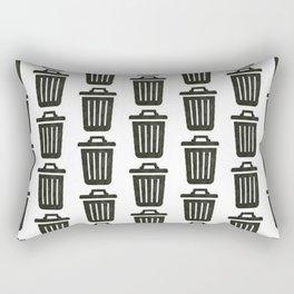 Trash Rectangular Pillow