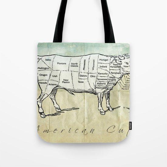 American Cuts Tote Bag