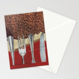 Silver & Gold Stationery Cards