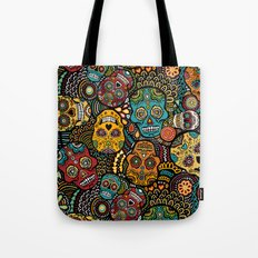 Calavaras - Day of the Dead Skulls Tote Bag