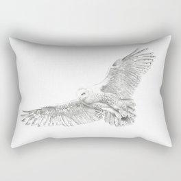 Snowy Owl, Bubo Scandiacus Rectangular Pillow