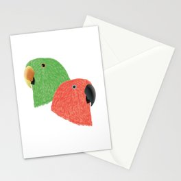 Eclectus Parrots Stationery Cards