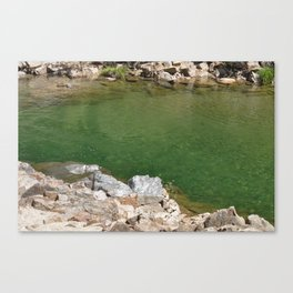 The Yuba River 5 Canvas Print