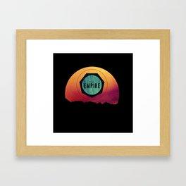 We Are Empire Framed Art Print