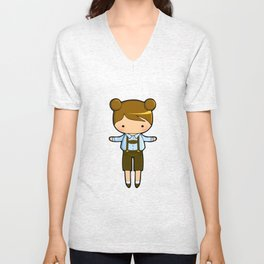 Bavarian Bear Unisex V-Neck