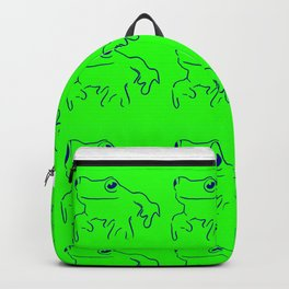 Green Frogs Backpack
