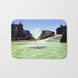 Victoria Square - Adelaide Bath Mat