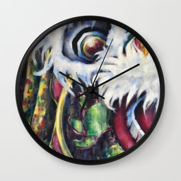 The Dragon Wall Clock