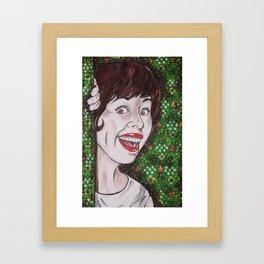 Carol Burnett Framed Art Print