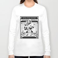 propaganda Long Sleeve T-shirts featuring Stormtrooper Propaganda by chokidokii