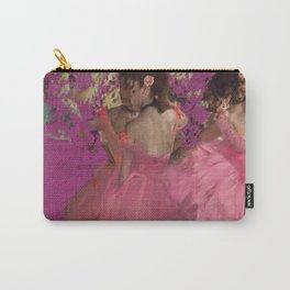 degas ballerinas pink Carry-All Pouch