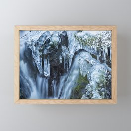 Ice and Water, No. 2 Framed Mini Art Print