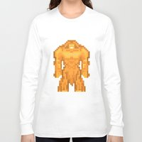 sasquatch Long Sleeve T-shirts featuring PixelWorld vol. 1 | Sasquatch by designatius
