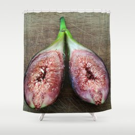 Fresh Fruit figues Shower Curtain