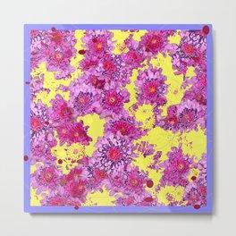Purple-Pink Flower Dreamscape Metal Print