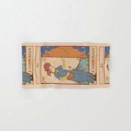 Tarot Card-L'Amoureux-Lovers Hand & Bath Towel