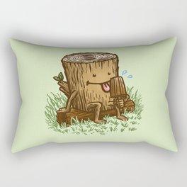 The Popsicle Log Rectangular Pillow
