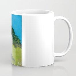 White Farmhouse. Coffee Mug