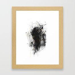 Unwelcome Gaze – Amazon 15 Framed Art Print