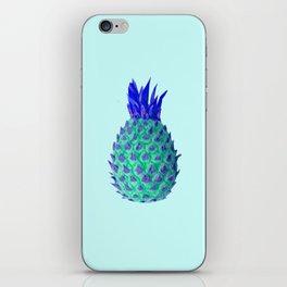 Fresh Mint Pineapple Fruit iPhone Skin