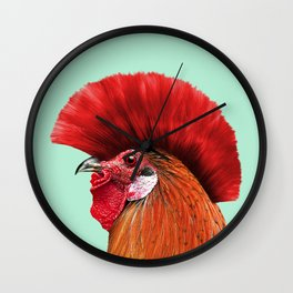PUNK COCK Wall Clock