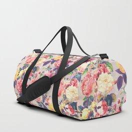 Floral G Duffle Bag