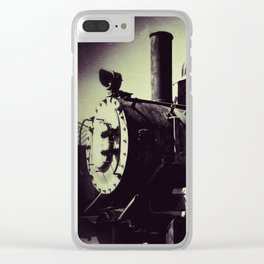 Caboose Clear iPhone Case