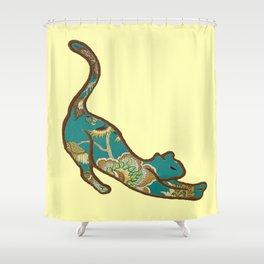 I love you, kitten Shower Curtain