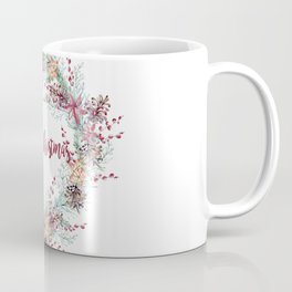 Xmas Wreath White Coffee Mug