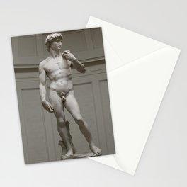Michaelangelo's David Stationery Cards