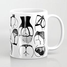 Lingerie Butts Coffee Mug