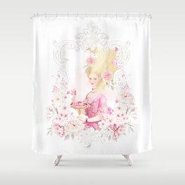 Marie Antoinette Paris in Spring Shower Curtain