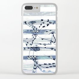 Notes To Self Clear iPhone Case