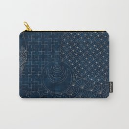 Sashiko - random sampler Carry-All Pouch