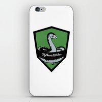 slytherin iPhone & iPod Skins featuring Slytherin Bitches! by Emma Ehrling