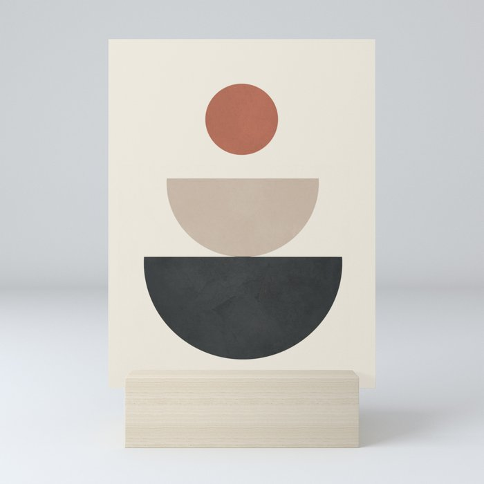 Geometric Modern Art 30 Mini Art Print