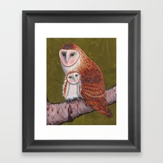 Owl Always Love You Framed Art Print
