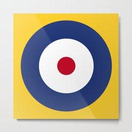 RAF Type A Roundel Metal Print