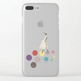 Bird Lady Clear iPhone Case