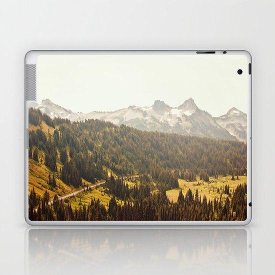 Road through the Mountains Laptop & iPad Skin