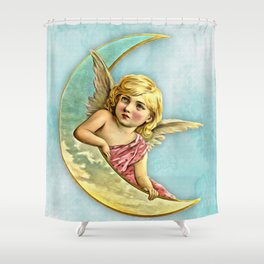 Victorian Angel Shower Curtain