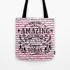 Notes are the building blocks of much written music Tote Bag